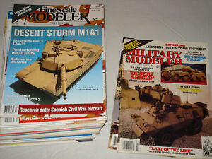 Fine Scale and Military Modeler magazines