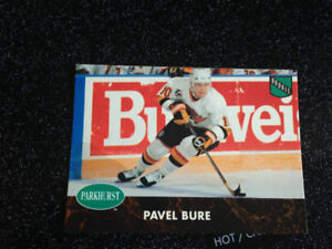 Pavel Bure rookie card