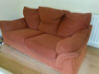 2 x Double Seater Sofas (Free)