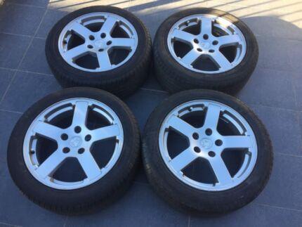 Holden Commodore VZ SV6 17 Inch Wheels / Tyres Storm / SVZ Wheels