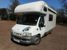 Hymer Camp C546, 2004 (53),5 berth, 6 belts,38k miles, near Newport, South Wales