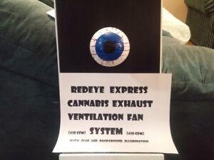 Window Mount Cannabis Smoke Removal Exhaust Fan