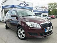 2014 Skoda ROOMSTER 0% FINANCE OFFER ON THIS CAR Manual MPV