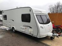 2012 Lunar Quasar 556 6 berth caravan Great Family Layout, MOTOR MOVER, AWNING!