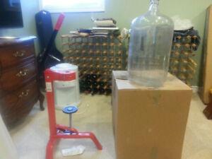 wine making equipt