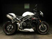 TRIUMPH SPEED TRIPLE RS. 2976 MILES. FSH. 2019. HEATED GRIPS. TAIL TIDY. LOVELY.