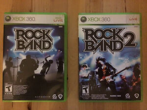 Rock Band 1 & 2 XBOX 360 CD