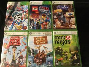 Lego Movie, Family Game, Ratatouille, Open Season...
