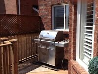 WEBER SS GAS BBQ, GENESIS S320, FEMALE OWNED!