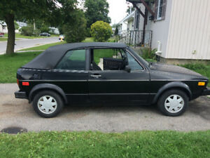 1986 Volkswagen Cabrio Convertible  sell or trade