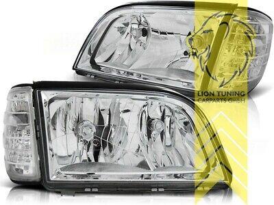 Design Scheinwerfer für Mercedes Benz W140 Limousine SE SEL S-Klasse chrom