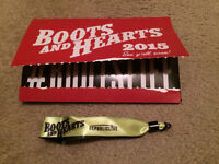 Selling 1 Full Weekend Pass for Boots & Hearts