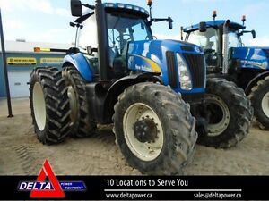 2007 New Holland TG245 MFWD Cab Tractor