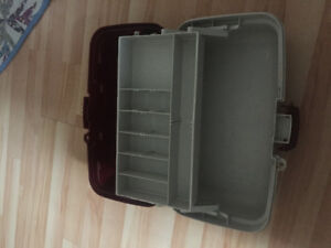 Fishing tackle box-Like new
