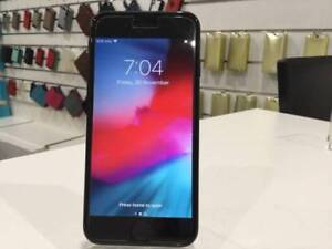 Jet Black iPhone 7 256gb With New USB Charger and Warranty