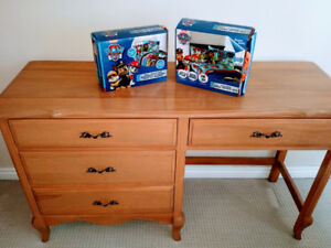 TWO Licensed PAW PATROL Microfiber 4 Piece FULL Sheet Sets