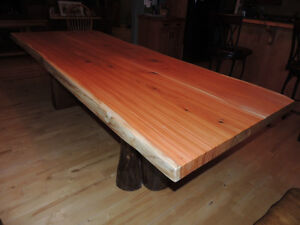 Quality hand made real wood tables lcoally crafted Comox / Courtenay / Cumberland Comox Valley Area image 2