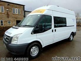2009 59-REG FORD TRANSIT MESSING UNIT, 8 SEAT CREW VAN, WELFARE, TOILET,