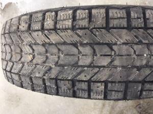 2x Hiver 195/75R14 92s Firestone Winterforce