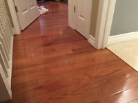 Hardwood/laminate flooring installation
