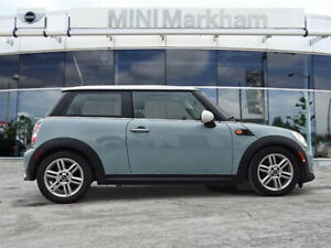 2013 Mint Blue Mini Cooper