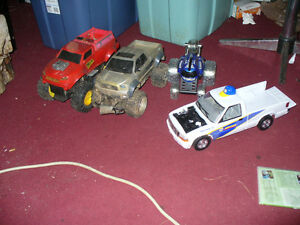 Toy  trucks and cars for kids to play with