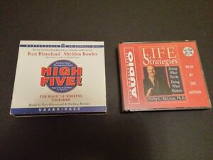 Lifestyle Books on CD Set of Two--Learn while you commute!