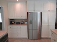Kitchen Makeovers - Refinished Kitchen Cabinet Doors