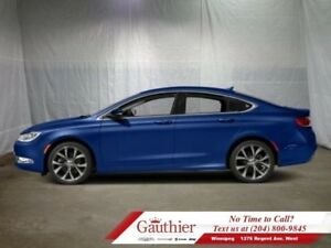 2016 Chrysler 200 C  - Heated Seats - Low Mileage