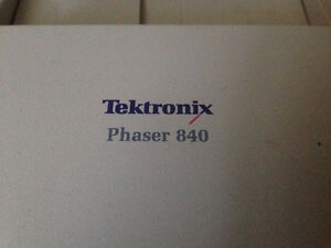 Tektronix Phaser 840 Wax Printer West Island Greater Montréal image 2