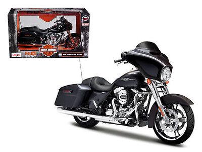 2015 Harley Davidson Street Glide 1:12 Diecast Motorcycle Model - 32328 *