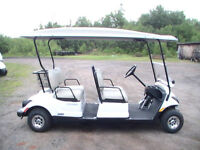 NEW 2015 YAMAHA 4 SEATER GOLF CAR FOR SALE!