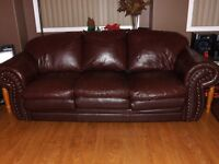 """""""REDUCED"""" 3 PCE COUCH, LOVE SEAT AND CHAIR"""