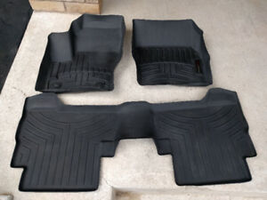 ford escape 2013 - 2018 rubber floor mats / liners