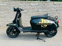Scomadi TL 125cc 125 Scooter 125 black