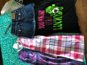Girls size 6x-7, clothing lot