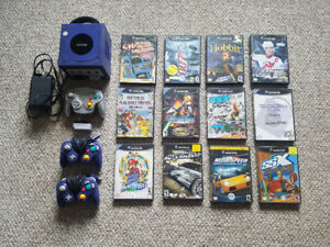 Gamecube console and games for sale