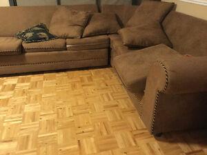 Sofa lit en L