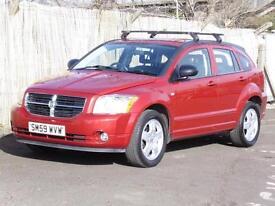 Dodge Caliber 2.0TD SXT, 2009, Red, FSH, 3 Months AA Warranty