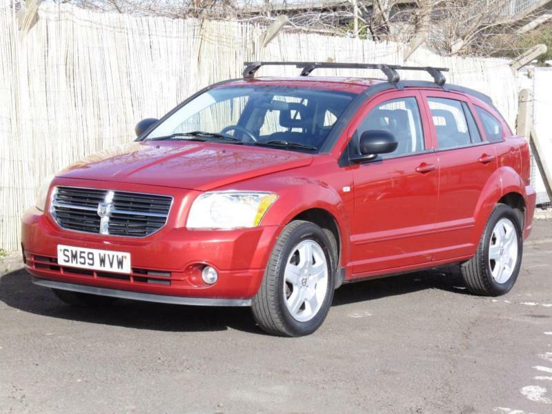 Dodge Caliber 2.0TD SXT, 2009, Red, FSH, 3 Months AA Warranty