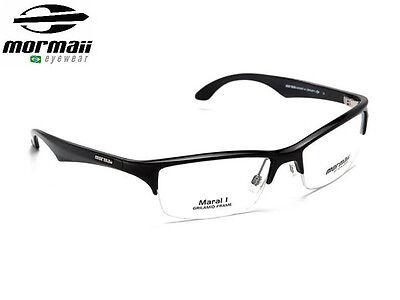 NIB Mormaii Model Maral Mens Optic Eye Glasses Eyeglasses Frame Color Dark Green