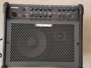 Fishman Loudbox 2 channel  100W Amp - like new. Only 23lbs!