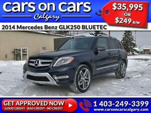 2014 Mercedes Benz GLK-Class 250 BLUETEC DIESEL w/Leather, PanoR