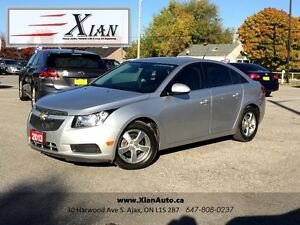 2013 Chevrolet Cruze LT Turbo Sedan *Manual*