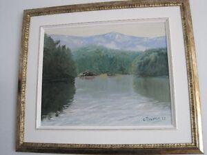 Tableau peintre Saguenay Saguenay-Lac-Saint-Jean image 3