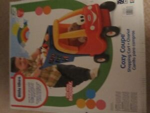 NIB Little Tikes Cozy Coupe/shopping cart for sale...