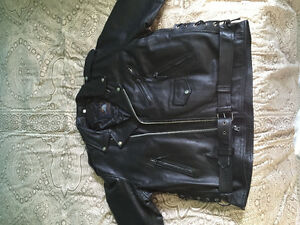 Brand new never worn biker leather jacket