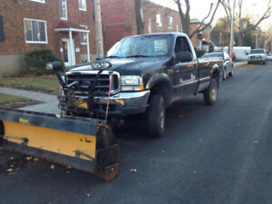 F250 2002 with Meyer Snow Plow - Ready for snow removal!