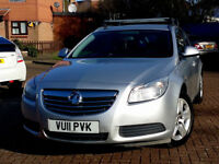 2011 Vauxhall Insignia 2.0 CDTi 16v Exclusiv 5dr+DIESEL AUTOMATC+FUL SERV HISTRY