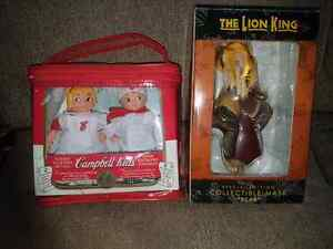 Campbell Kids Collectible dolls & The Lion King Scar Collectible